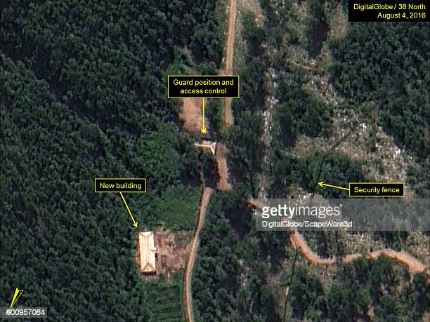 Figure 5 New building east of Command Center externally complete Date Aug 4 2016 This image is from the Punggyeri Nuclear Test Site and was featured...