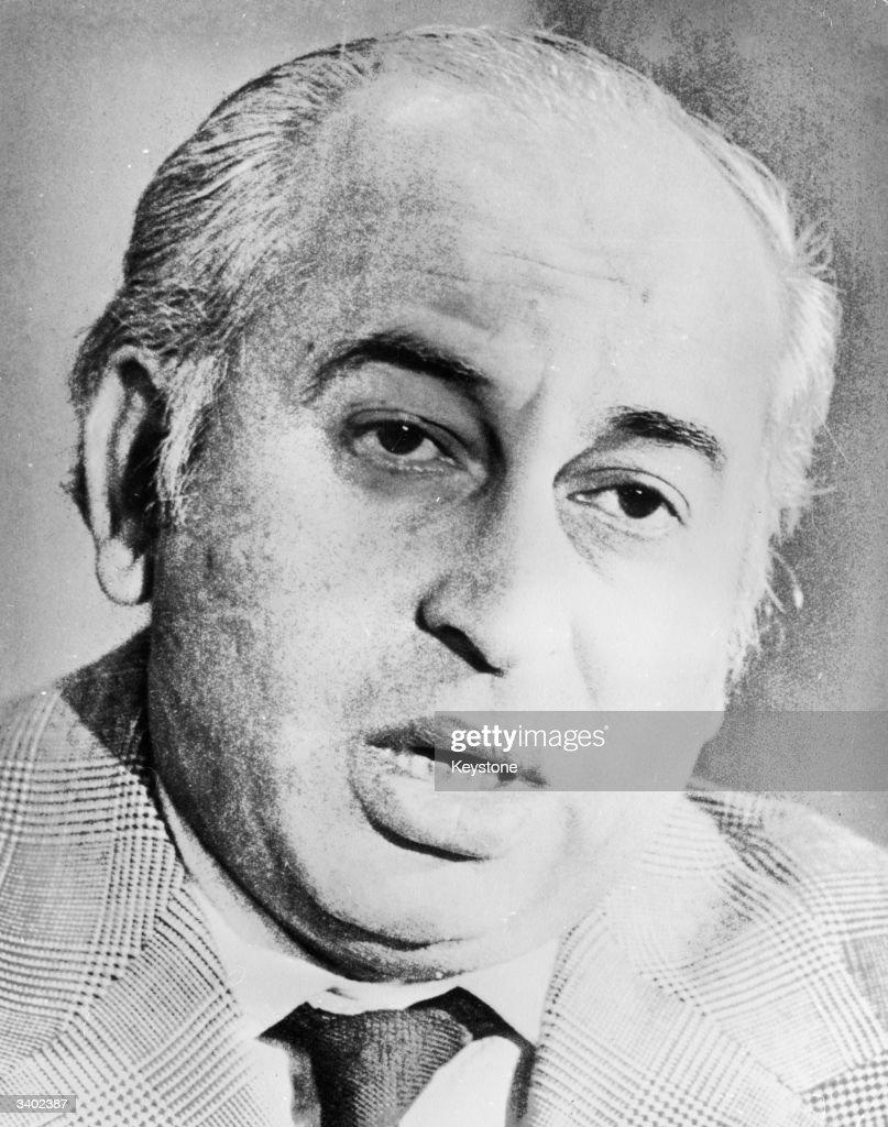 Zulfikar Ali Bhutto : ニュース写真