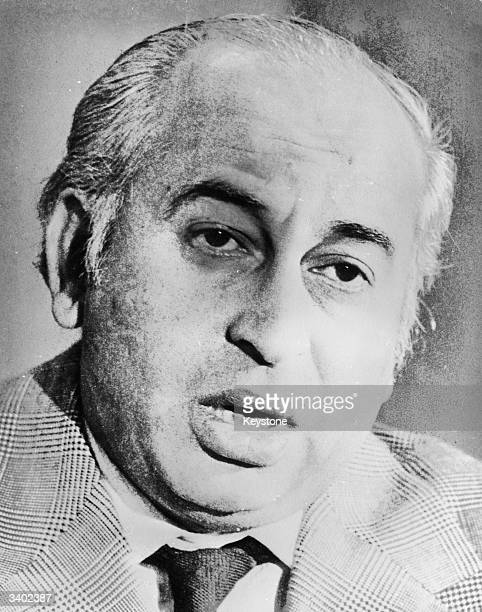 Former President and Prime minister of Pakistan Zulfikar Ali Bhutto