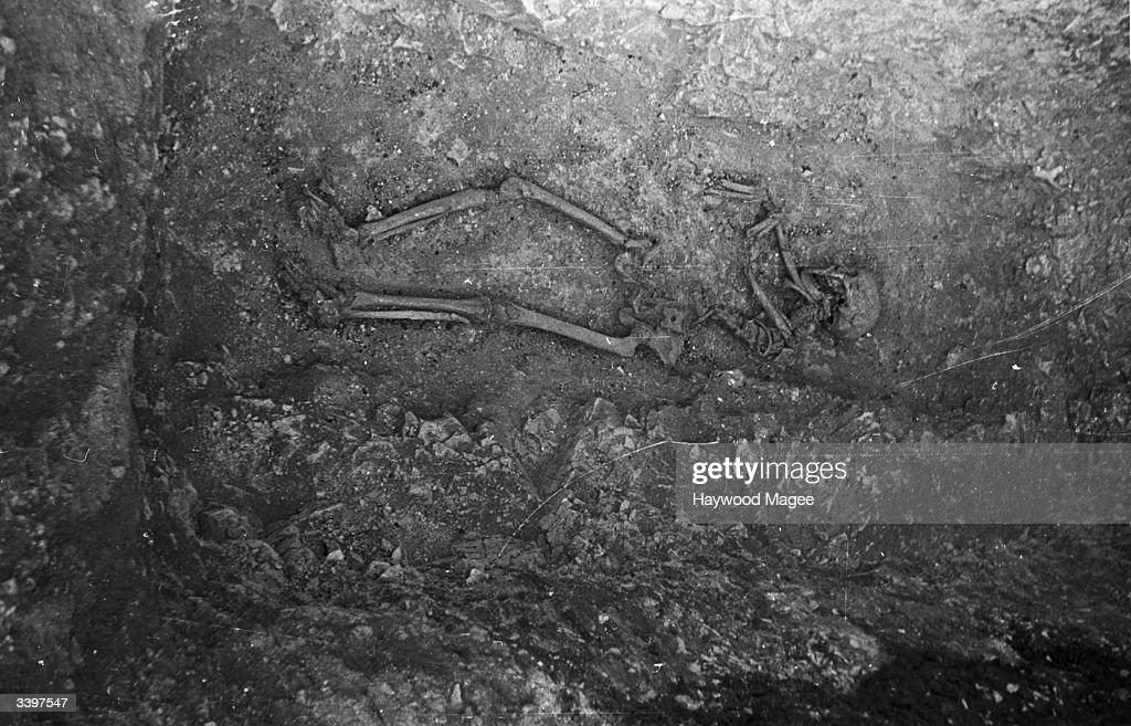 Iron Age Skeleton : ニュース写真
