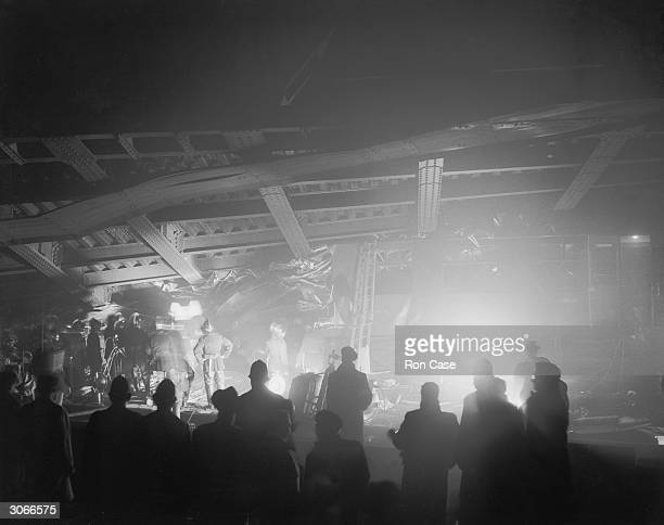 Ninety two people died and over two hundred were injured when two rushhour trains crashed in fog outside St John's Station in Lewisham south London...