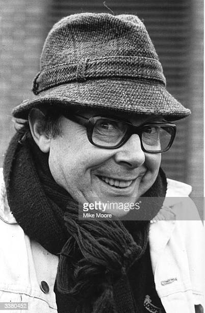 British comedian Eric Morecambe one half of the comedy doubleact Morecambe and Wise