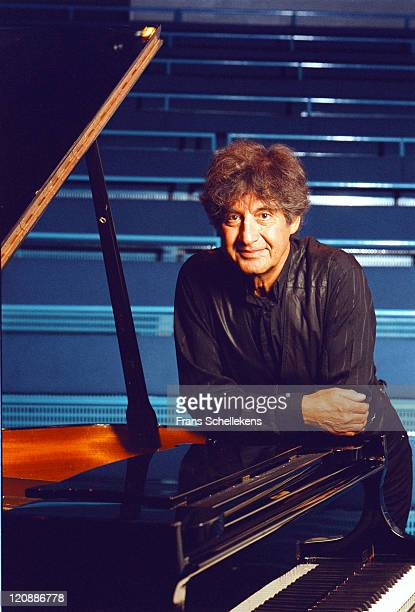 4th FEBRUARY: Pianist Polo de Haas poses in de Ijsbreker in Amsterdam, Netherlands on 4th February 2000.