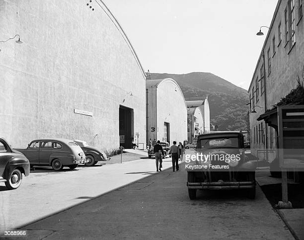 Stages 1 5 and 7 on the Warner Brothers Film Studios, Burbank, California.