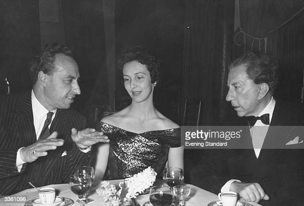 Prince Massimo, Penelope Kitson and J. Paul Getty at the River Club