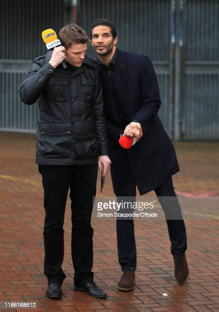 4th January 2014 FA Cup Blackburn Rovers v Manchester City BT Sport presenters Jake Humphrey and David James