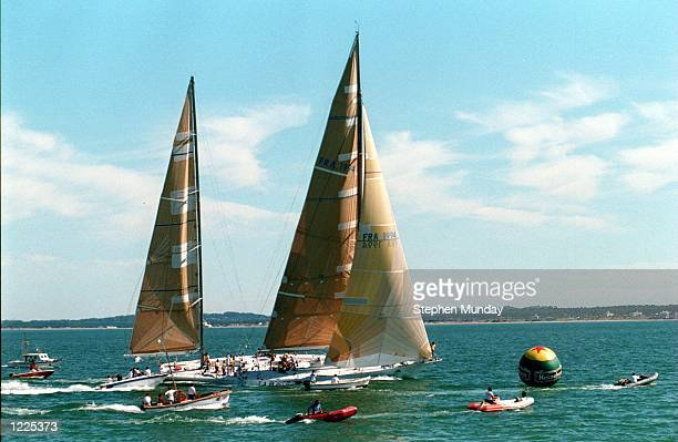 THE 4th LEG OF THE WHITBREAD ROUND THE WORLD YACHT RACE FOR THE HEINEKEN TROPHY Mandatory Credit Steve Munday/ALLSPORT