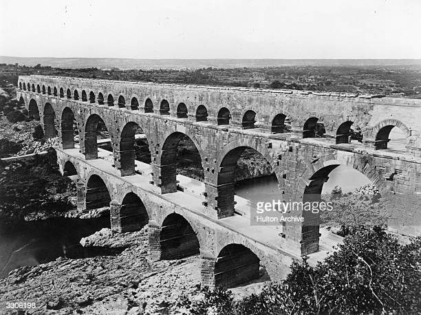 The Pont du Gard a Roman aqueduct Aldus Disc Places And Paraphernalia
