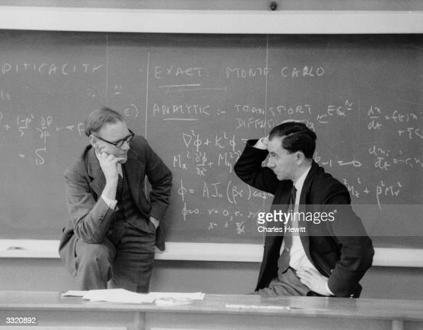 Mathematician Compton Rennie and experimental physicist Peter Mummery discuss Britain's atomic power developments at Harwell. Compton heads the team...