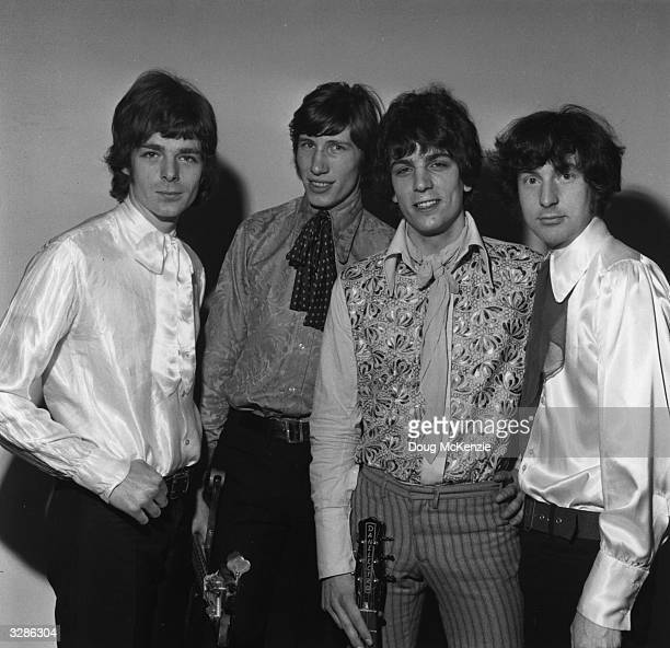 Pioneering psychedelic rockers The Pink Floyd March 1967 From left to right keyboard player Rick Wright bass player and vocalist Roger Waters...