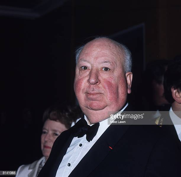 Britishborn film director Alfred Hitchcock attends the Society of Film and Television Arts Awards at the Royal Albert Hall London