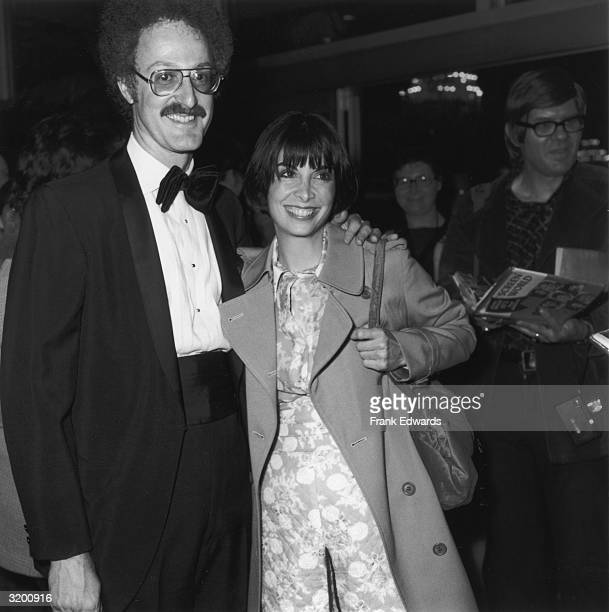 American actor Talia Shire smiles while standing with her arm around her first husband composer David Shire at the People's Choice Awards...