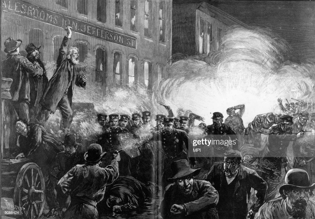Haymarket Riots : News Photo