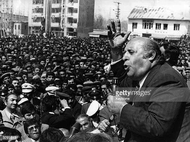 Suleyman Demirel was an engineer before entering politics He served three terms as Prime MInister until 1980 when a military coup banned political...