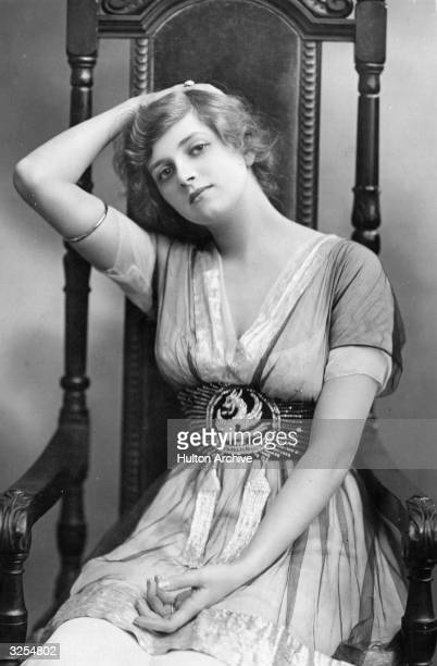 English actress Gladys Cooper as Pamela in 'The Pursuit of Pamela' Playwright C B Fernald