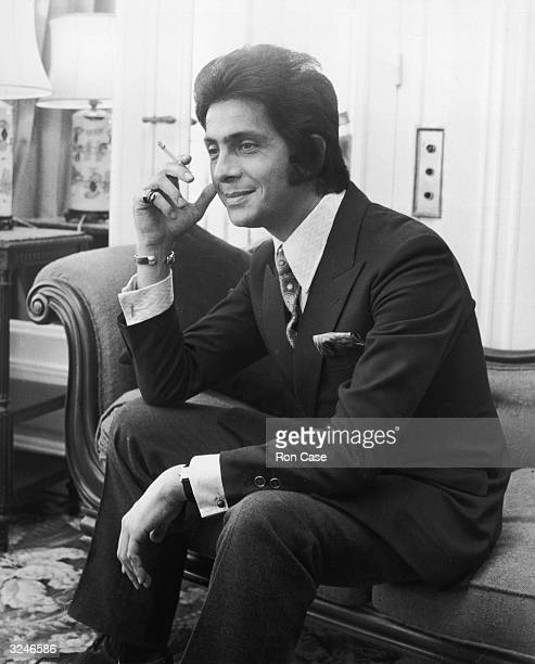 Italian fashion designer Valentino at the Savoy Hotel during a trip to London. He will be showing his winter collection at the hotel on November 6th,...