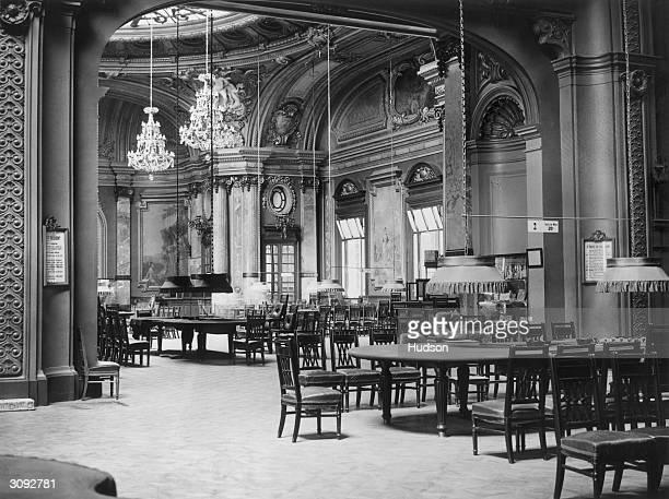 The main room of the Monte Carlo Casino Monaco known as the 'Kitchen'