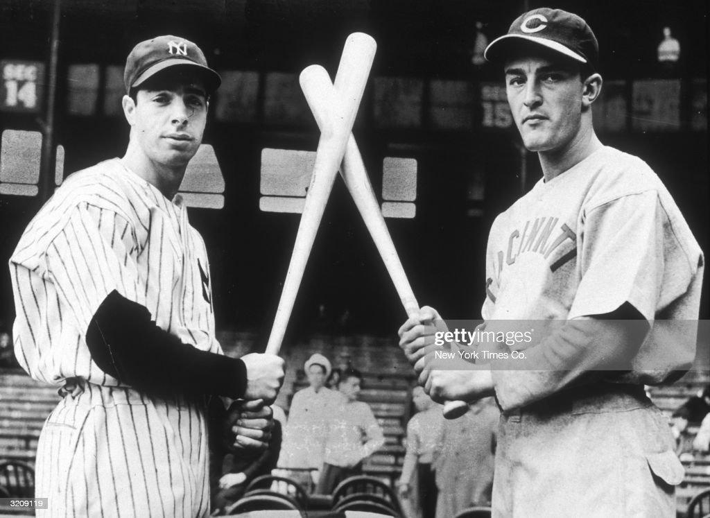 DiMaggio & McCormick : News Photo