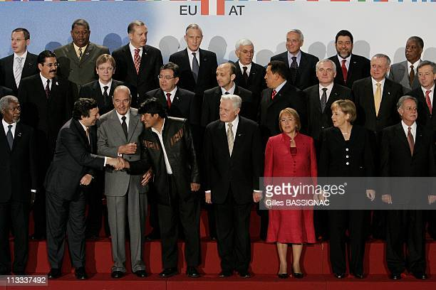 4Th Summit Of The European Union Latin America And The Caribbean On May 12Th 2006 In Viena Austria Here Kofi AnnanJose Manuel BarrosoJacques...