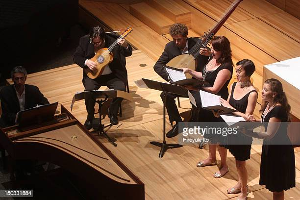"""4x4 Baroque Music Festival presents """"Three - Vocal Trio: 17th Century Songs from Venice and Rome"""" at St. Peter's Lutheran Church on Saturday night,..."""