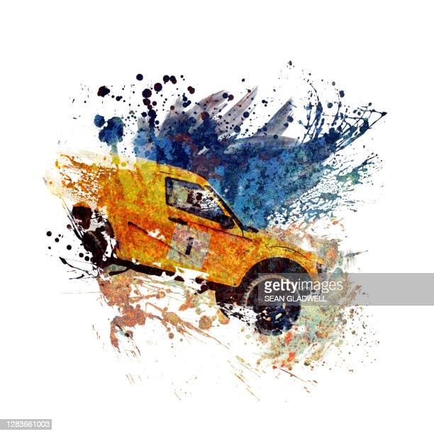 4x4 car painting - 4x4 stock pictures, royalty-free photos & images
