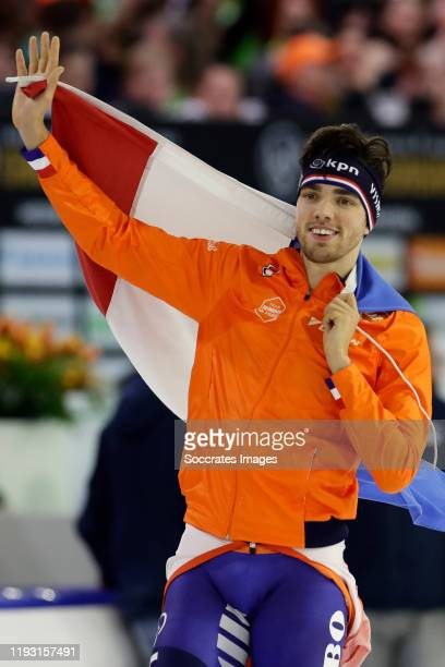 5000mtr Patrick Roest during the ISU EK Speed skating Men at the Thialf on January 11 2020 in Heerenveen Netherlands