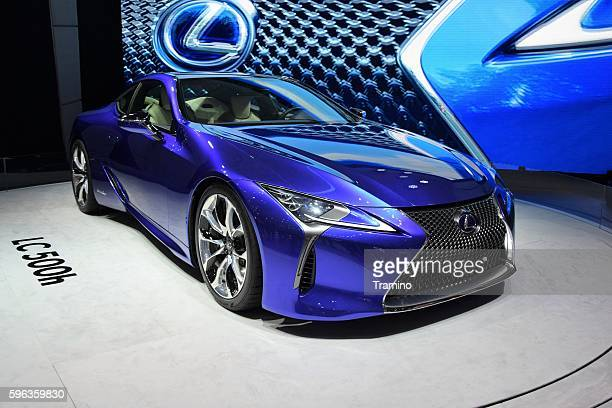 LC 500h - hybrid coupe from Lexus