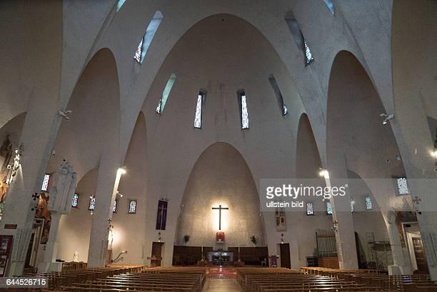 50er Jahre Kirche Jeanne d'Arc in Nizza