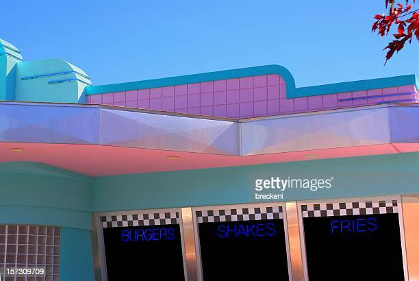 50s Drive in restaurant