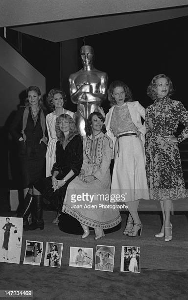 50th Academy Awards Glamour girls at the Oscarcast rehearsal for the costume parade they will appear in from nominated films Natalie Wood to...