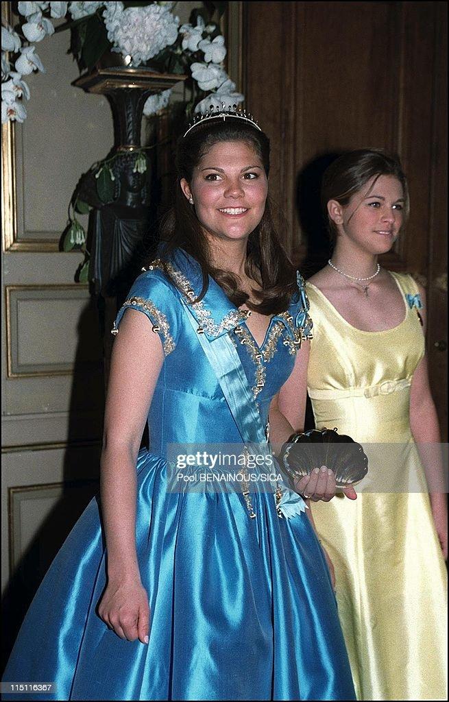 50Th Anniversary Of King Carl Gustav Of Sweden In Stockholm, Sweden On April 30, 1996. : Fotografía de noticias