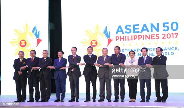 50th Association of Southeast Asian Nations Foreign Ministers' Meeting is held in Manila Philippines on August 05 2017