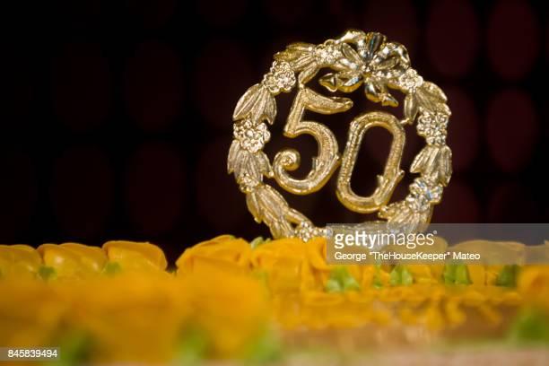 50th (6112) - 50 jarig jubileum stockfoto's en -beelden