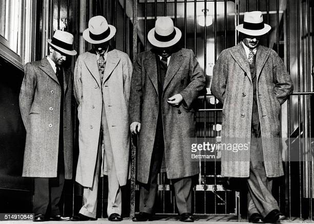 5/11/1931New York NYFASCINATED BY THE FLOOR AFTER BOOKING AS BANK ROBBERS Or