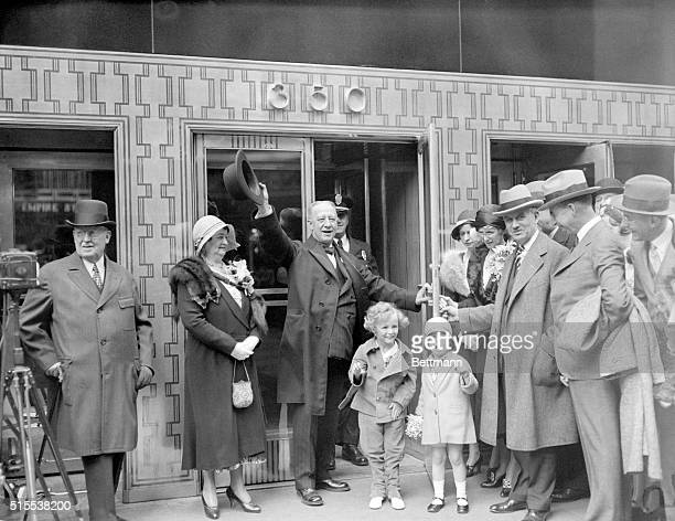 5/1/1931New York NY The Empire State Building the loftiest structure in the world was formally opened in a ceremony in which President Hoover Alfred...