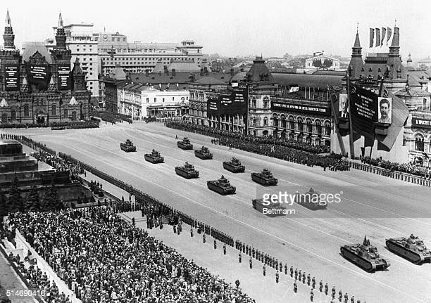5/15/1939Mosacow USSRWhile all the world is wondering what the course of Soviet Russia will be in the event of a blowup in Europe the mighty Red Army...