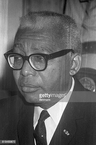 5/15/1963PortauPrince Haiti President Francois Duvalier beginning a period of unconstitutional control of Haiti presides at a press conference on May...