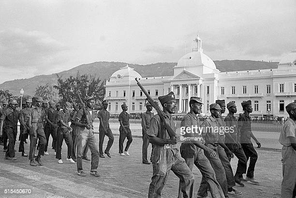 5/15/1963PortauPrince Haiti Some 1200 Ton Ton Machoutes from Haiti's outlying areas arrived 5/15 in PortauPrince for the May 22nd Inaugural of...