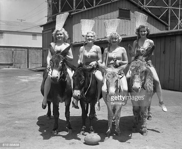 5/16/1934Hollywood CAA huge outdoor gathering of screen and stage celebrities attended the Screen Stars' Polo Game at the Uplifters' Field The main...