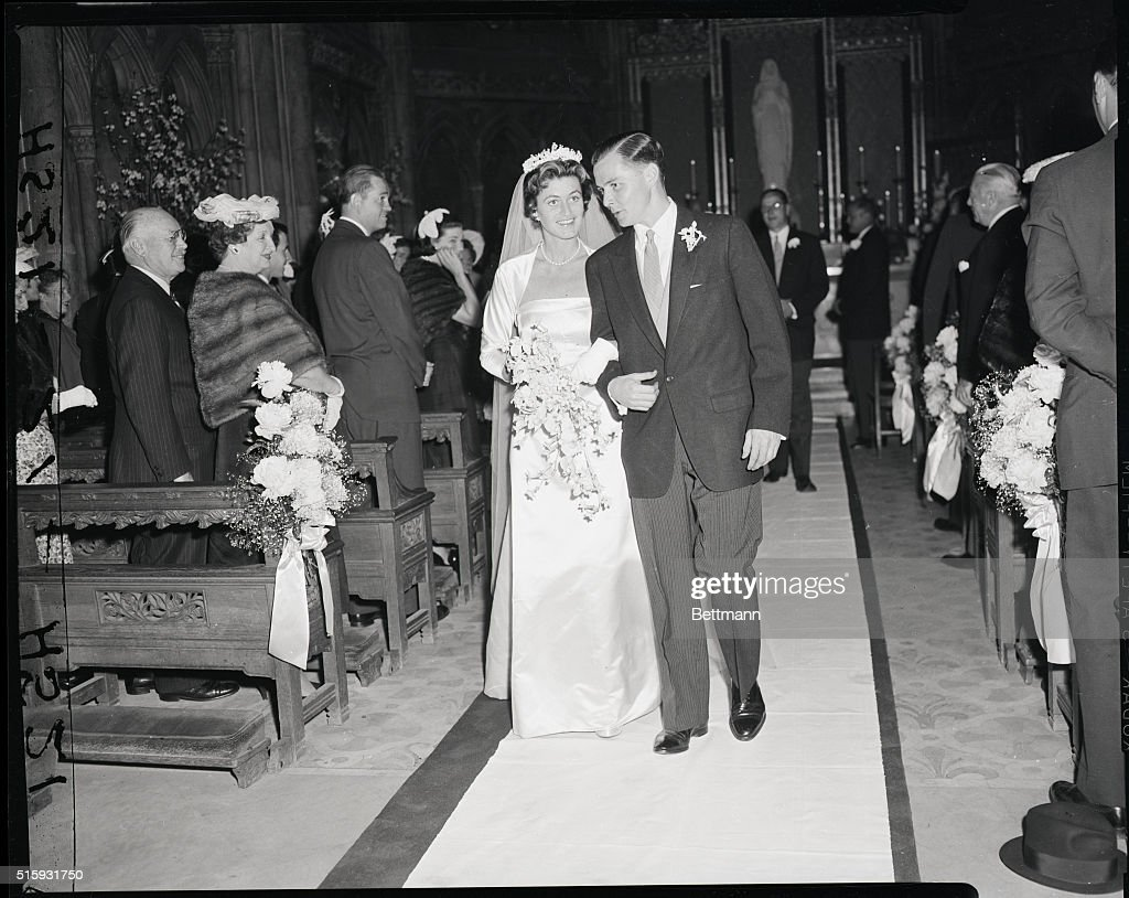 jean kennedy and stephen smith wedding pictures | getty images