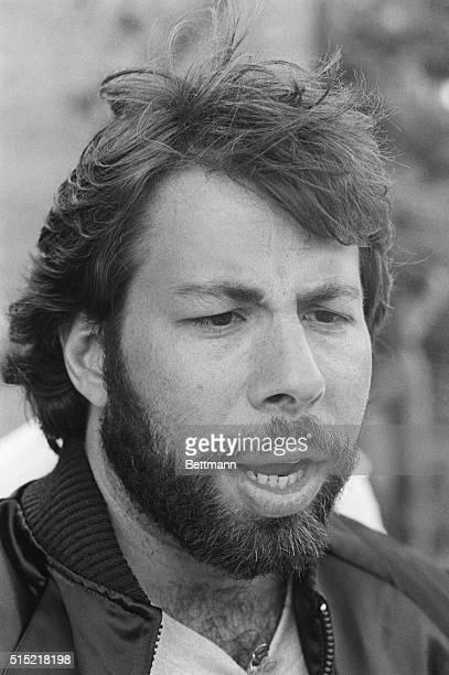 5/1983San Bernardino California Steve Wozniak Apple Computer founder at the US Festival 3day rock concert and computer tech show