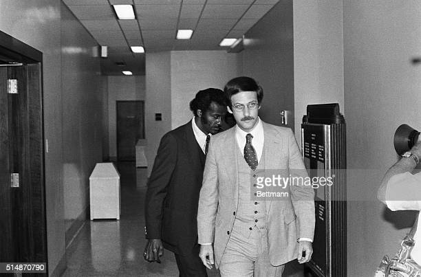 5/22/1979St Louis MO Chuck Berry the rock 'n' roller who influenced musicians from the Beatles to the Beach Boys follows one of his attorneys in to...