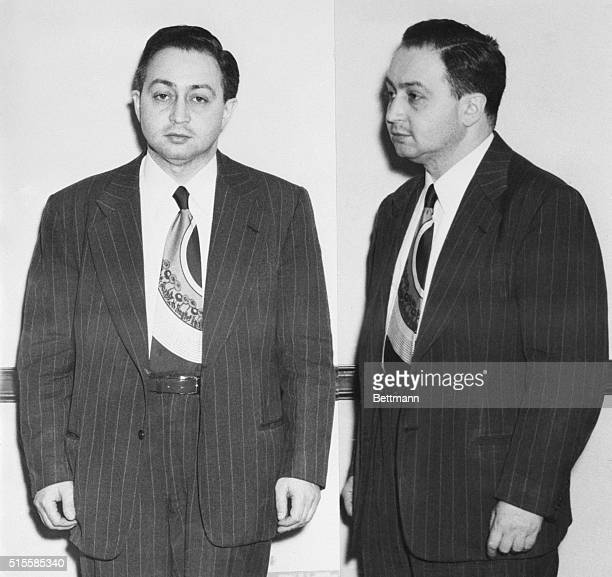 5/24/1950Philadelphia PA Harry Gold 39yearold Philadelphia man arrested last night on espionage charges is shown in two photos made in the...