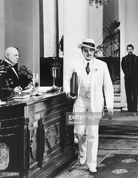 5/25/1971New York NY Dick Bogarde's role in the upcoming movie Death in Venice may help the return of the white suit to men's fashion