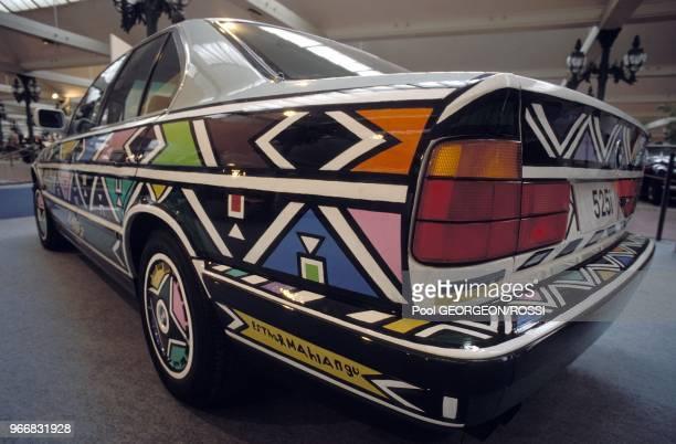 BMW 525i designed by Esther Mahlangu
