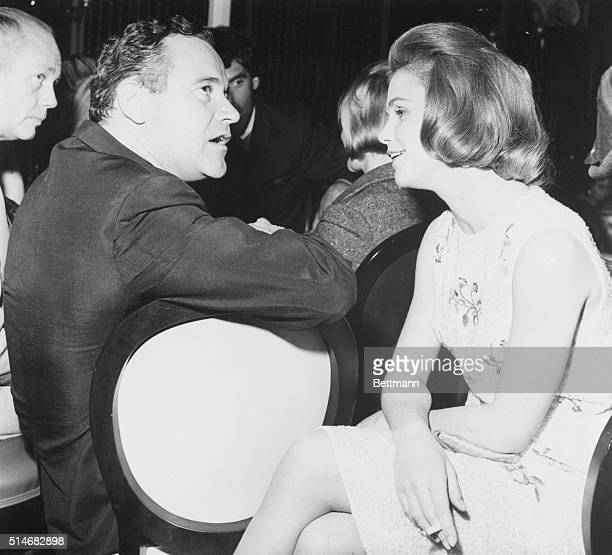 5/30/1964Actor Jack Lemmon and actress Lee Remick sit this one out at the Burton party They were among the Hollywood stars attending the affair Lee...