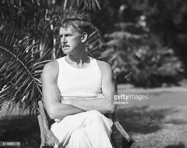 5/3/1926Hamilton Bermuda Eugene O'Neill sometime referred to as America's Leading Playwright is here shown in a most unusual pose while sojourning at...