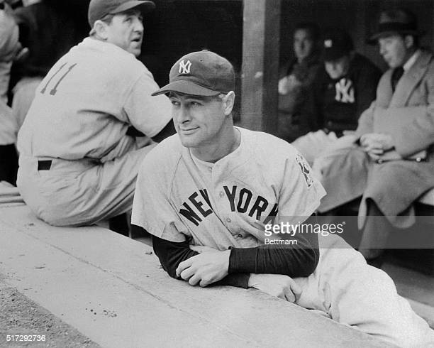 Lou Gehrig iron man of the New York Yankees broke his string of consecutive games at 2130 when he voluntary benched himself in a game withe Detroit...