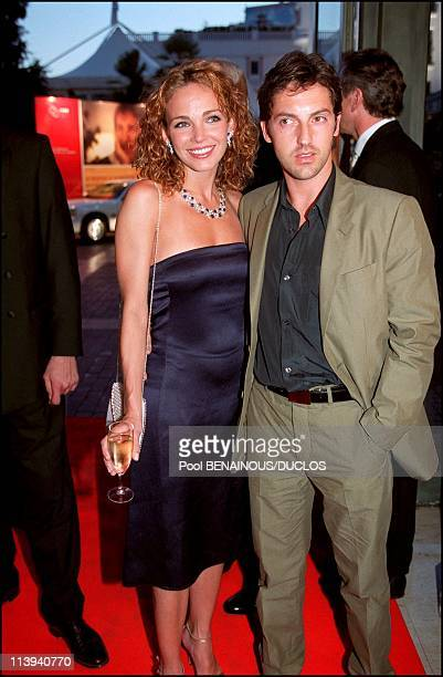 54th Cannes Film Festival Chopard's Party In Cannes France On May 19 2001Frederic Diefenthal and Claire Keim