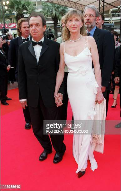 54th Cannes film festival stairs of Apocalypse Now Redux In Cannes France On May 11 2001Aurore Clement